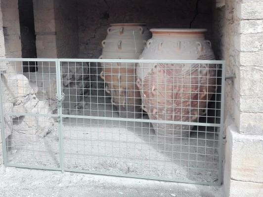 Lerkrukker på Knossos, Kreta